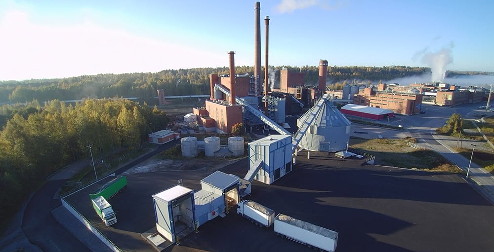 Aerial photo of BMH's solution