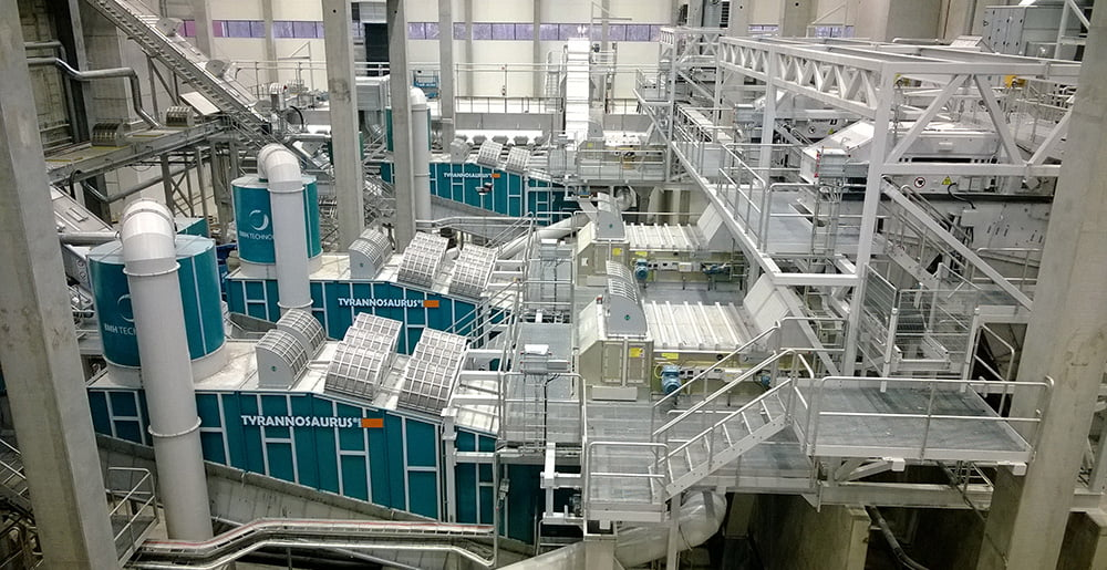 photo of TYRANNOSAURUS processing line