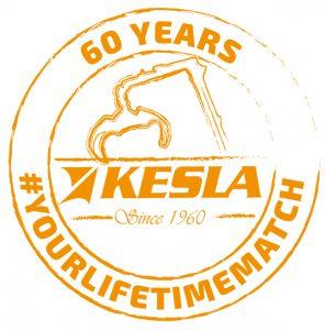 anniversary logo Kesla 60 years